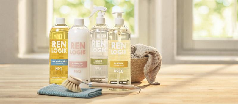 Ren logik – miljövänliga städprodukter