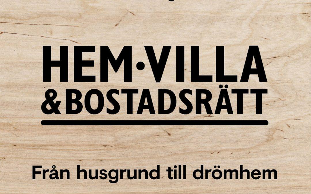 Vinn biljetter till Hem&Villa!
