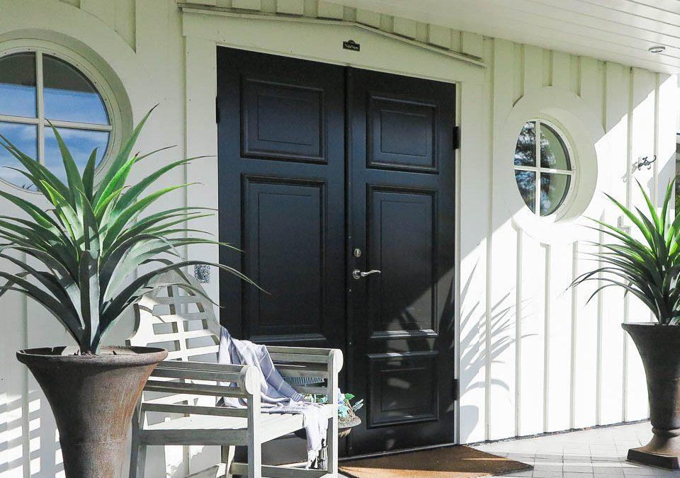 Fräscha upp din ytterdörr