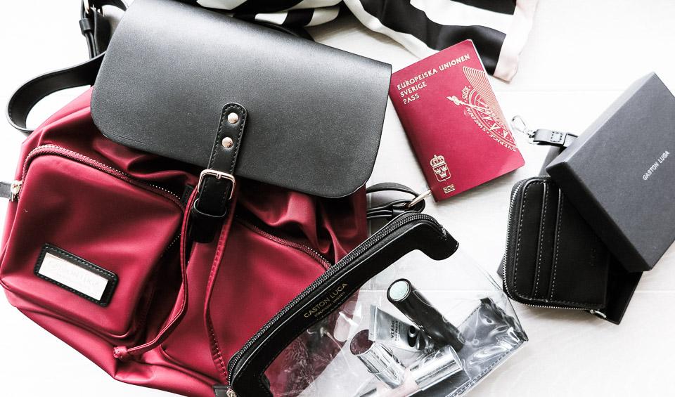 Ny ryggsäck från Gaston Luga