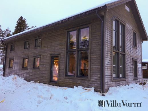 Villa Kåbdalis – ett modernt fritidshus